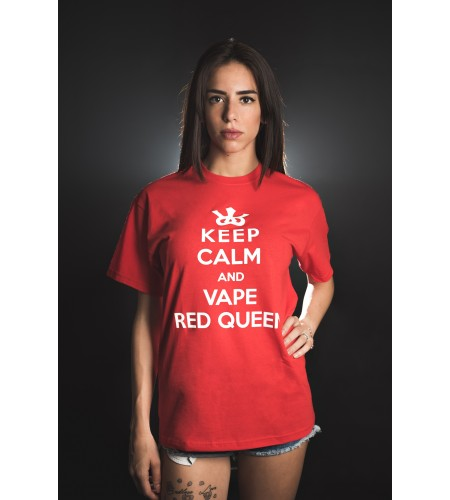 TShirt - Royal Blend - Keep Calm and Vape Red Queen